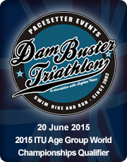 Dambuster Triathlon 2015