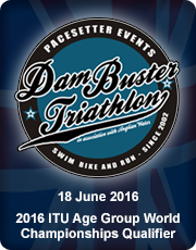 Dambuster Triathlon 2016