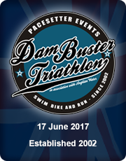 Dambuster Triathlon 2017