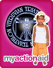 Vitruvian Triathlon ActionAid