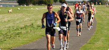 The Dambuster Triathlon - Run