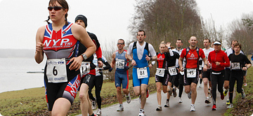 The Dambuster Duathlon Run