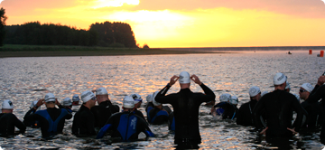 The Dambuster Triathlon - Swim