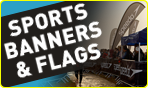 Sports Banners & Flags