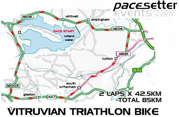 Vitruvian Bike Route